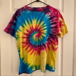 Spiral Tie Dye Tshirt